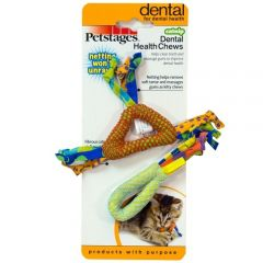 Petstages Cat Toy - Catnip Dental Health Chew (2.5 inch x 2pcs)