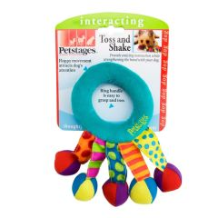 petstages dog toy toss and shake