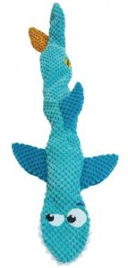 Petstages Stuffing Free Floppy Shark (1)