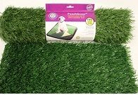 """PoochPad Grass Products - Indoor Dog Potty Replacement Grass Mat Small 18"""" x 18"""""""