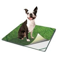 """PoochPad Grass Products - Indoor Turf Dog Potty TRAVELER Small 18"""" x 18"""""""