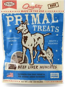 Primal Treats - Freeze-Dried Beef Liver Munchies