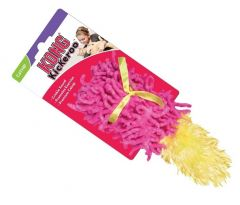 KONG Active Catnip Cat Toy - Moppy with Feathers (Red)