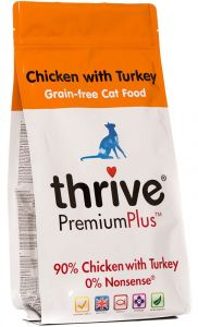 Thrive - PremiumPlus Chicken & Turkey Complete Dry Food for Cats 1.5kg