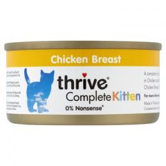 Thrive - Complete 100% Tuna Fillet  (75g)