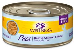 wellness complete health cat canned beef salmon