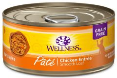 wellness complete health cat canned chicken
