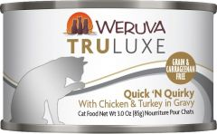 WERUVA TRULUXE Grain Free Cat Canned Food - Quick 'N Quirky with Chicken & Turkey in Gravy (6oz)