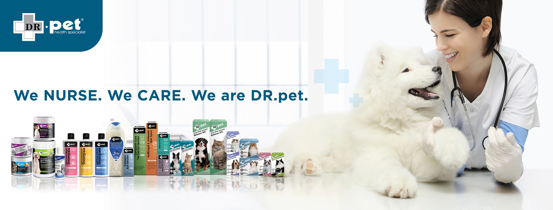 Dr Pet Cat and Dog Health Care Products