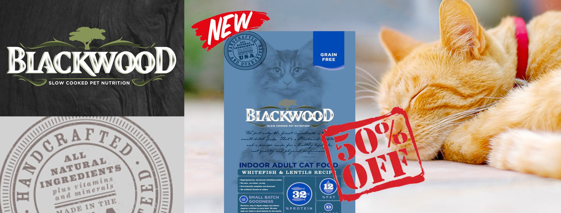 Blackwood cat dry food promotion